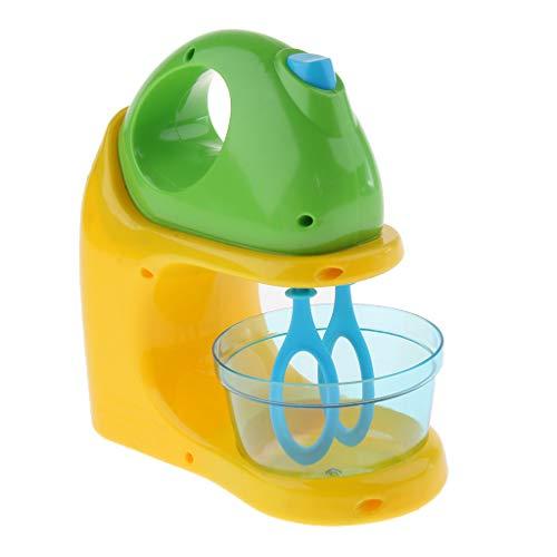 FLAMEER Kinderküchen Rollenspielzeug - Elektrische Mixer / Rührgerät Spielzeug, aus Plastik