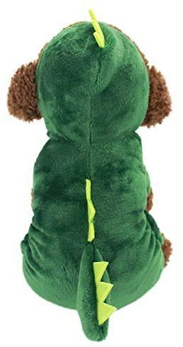 SBYMX Dog Clothes Small Pet Costume Halloween Dinosaur Shark Costume Dog Clothing Puppy Outfits...
