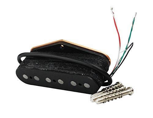 Guyker Guitar Pickups Single Coil Set - Tele Super Twang Pickup Bridge Replacement Parts for 6 String Fender TL Tele Style Electric Guitar (SUP-TE)
