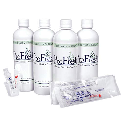 2 Month ProFresh® Maintenance Kit - 4 Bottles with Activator Pacs™