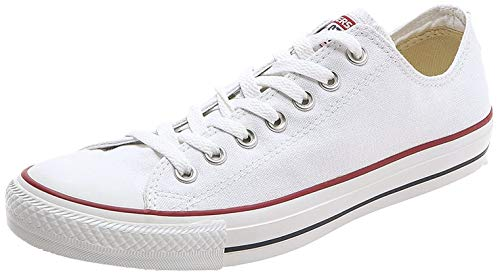 Converse Unisex-Erwachsene Chuck Taylor All Star-Ox Low-Top Sneakers, Weiß (Optical White), 42 EU