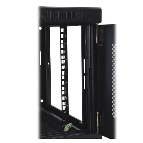 "Tripp Lite 6U Wall Mount Rack Enclosure Server Cabinet, 16.5"" Deep, Switch-Depth (SRW6U),Black"
