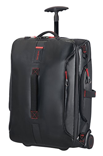 Samsonite Paradiver Light Duffle with wheels Strictcabine, 55 cm, 48,5 L, Black