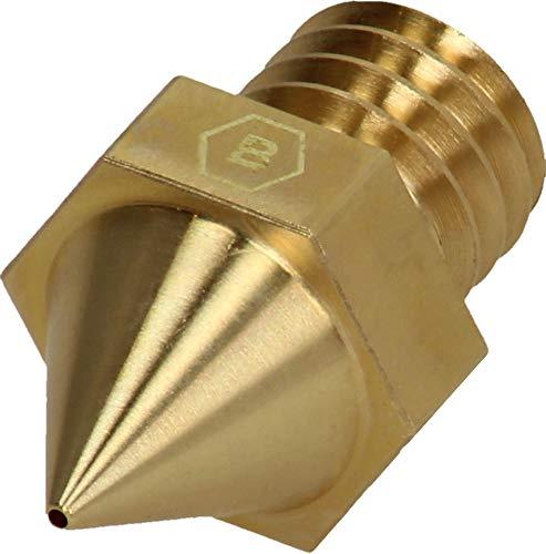 BROZZL Raise3D Pro2 Brass Nozzle 0.8 mm Diameter for 3D Printers