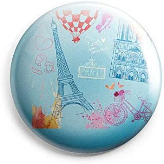 AVI Fridge Magnet with Blue Colour Paris 58mm Metal Regular Size 58mm MR8000739