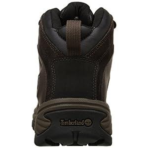 Timberland Men's Flume Waterproof Boot,Dark Brown,11.5 W US