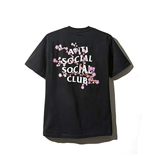 Anti Social Social Club Cherry Blossum Black Tee T-Shirt Assc Size S M L XL