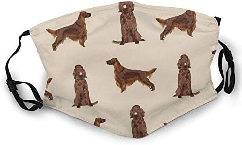Dust Masks Full Face Mask Irish Setter Dog Breed Pet Pattern Gifts For Irish Setters Balaclavas product image