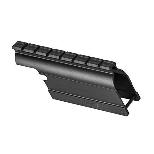 B-Square Mossberg 500 Maverick 88, 12 Gauge Shotgun Saddle Style Mount, Matte Black Finish