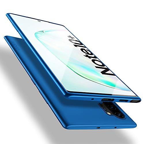 X-level für Samsung Galaxy Note 10 Plus Hülle, [Guardian Serie] Soft Flex Silikon Premium TPU Echtes Handygefühl Handyhülle Schutzhülle Kompatibel mit Galaxy Note10+ 6,8 Zoll Hülle Cover - Blau