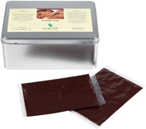 Massage-Schokolade von Schupp, 25 Packungen mit je 80 Gramm