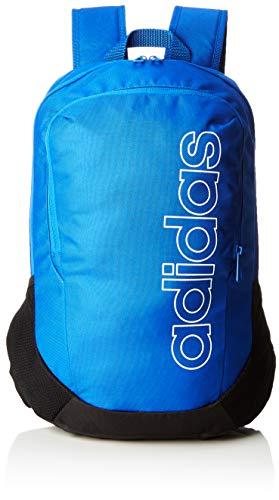 adidas Bp Log Parkhood, Mochila Unisex Adultos, Azul (Azul/Negro/Blanco), 36x24x45 cm (W x H x L)