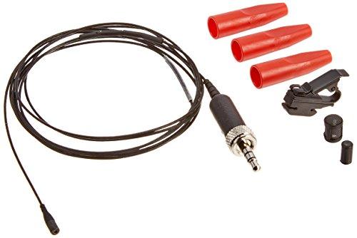 Sennheiser MKE 1-ew–Subminiature omnidireccional micrófono lavalier con evolución inalámbrico conector–negro
