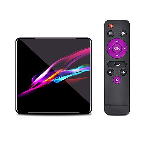 HSART Sistema Operativo Android 9.0, Decodificador de TV Inteligente, CPU Amlogic S905X3 Arm Cortex A55 de Cuatro Núcleos Compatible con Reproductor Multimedia,2+16g