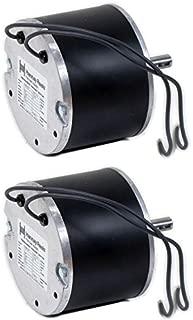 Hannay 9915.0042 Electric 12V DC Motor for Hose Reels (Pack of 2)