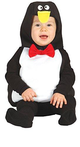 Guirca–Costume da Pinguino Baby, taglia 6-12mesi, 85552.0