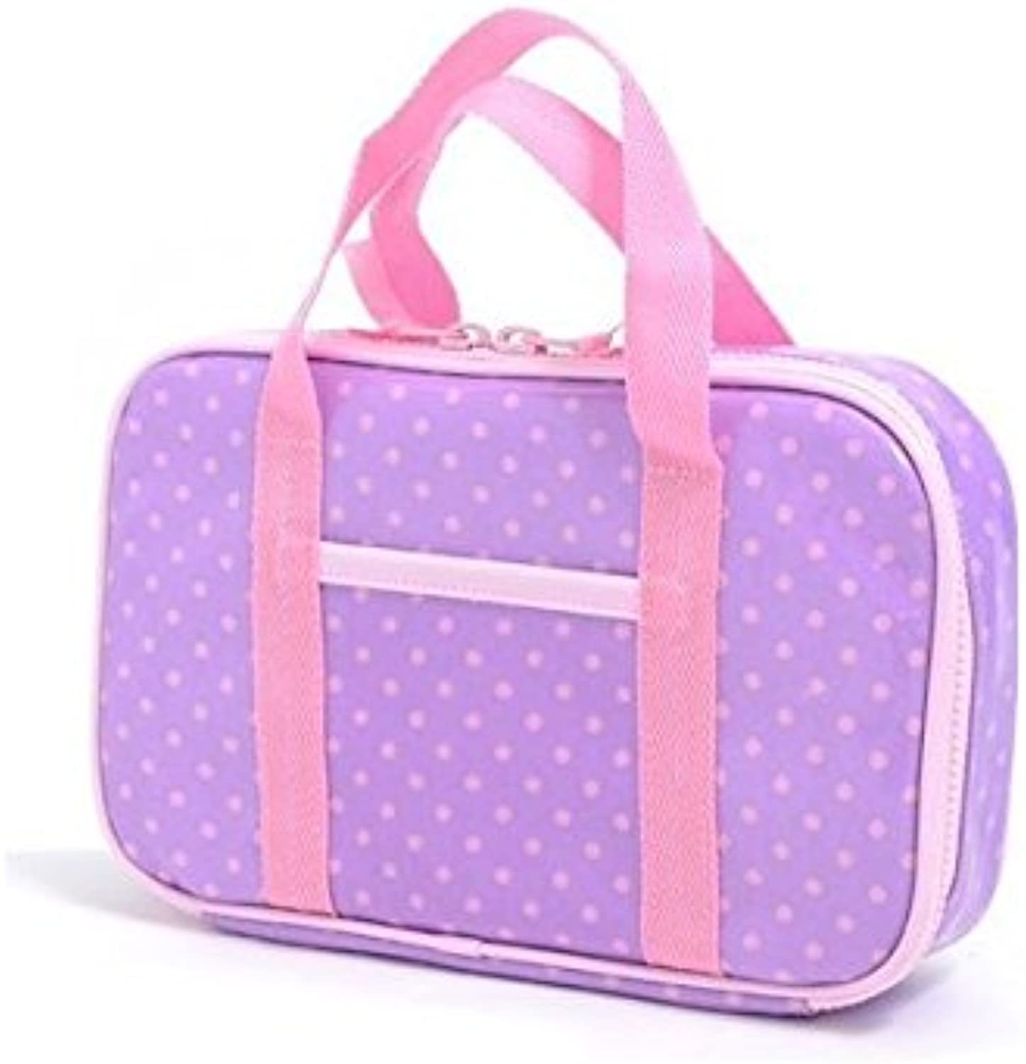 Made in Japan N2302310 (pink dots on purple ground) Kids Sewing, sewing kit, Misasa polka dot rated on style (japan import)