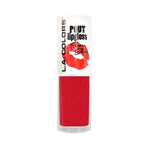 (3 Pack) L.A. COLORS Pout Super Shine Lip Gloss - Hot Lips