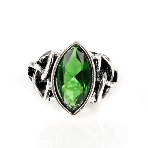 Mode Trinity Knot ringen voor vrouw kleurrijke Crystal Thor Ring vriendin Ring Engagement Jewelry Valentijnsdag geschenken