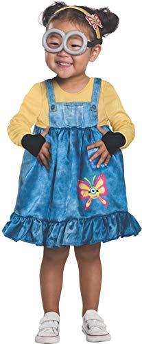 Rubie's Baby Girls Rise of Gru Minion Costume Dress, As Shown, 2T
