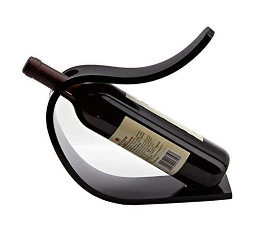 MTYLX Weinregal, Lagergestell, Weinregalschrank, Weinregal Acryl Wein Flaschenhalter Geschenk Weinschrank Dekoration Wohnzimmer Displayständer