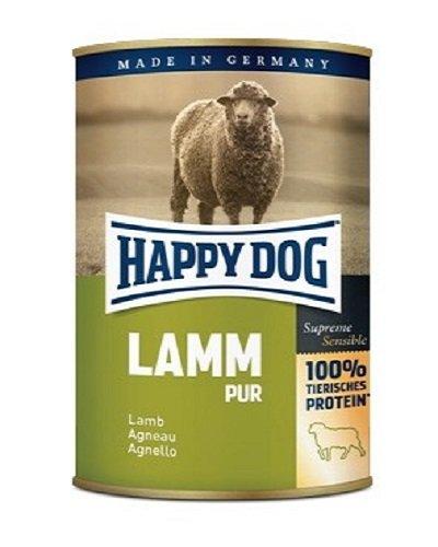 Happy Dog hondenvoer lam Pur 400 g blik aanvullende voeding