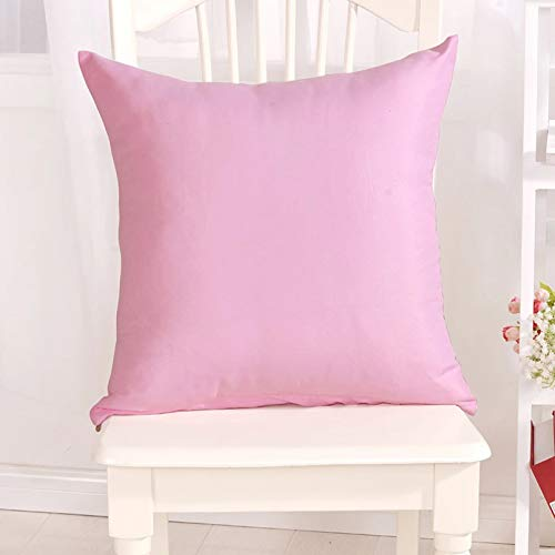 SUIBIAN Throw Pillow Case For Sofa Solid Color Cushion Cover Home Decorative Pillowcase Car Seat Cushion Cover