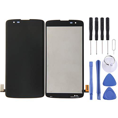 MENGHONGLLI Pantalla LCD del teléfono Celular Ensamblaje Completo de Pantalla LCD y digitalizador para LG K8 Pantalla táctil del teléfono