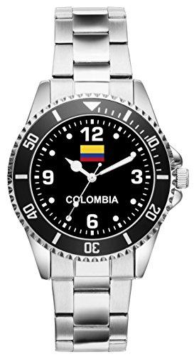 Colombia Colombia Regalo Fan Artículo Accesorios Reloj 6344