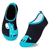 HMIYA - Escarpines antideslizantes para niños, secado rápido, para la playa, piscina, surf, color, talla 30/31 EU