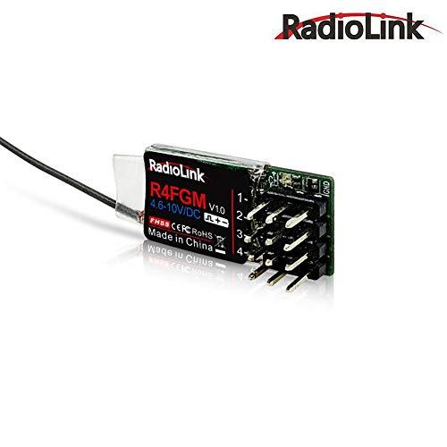 Falliback R4FGM Radiolink 4CH Empfänger für Autos und Boote RC Mini-Z geeignet für T8FB / T8S / RC4GS / RC6GS / RC4G