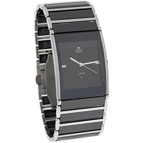 Rado Men's R20852702 Integral Analog Display Swiss Automatic Black Watch