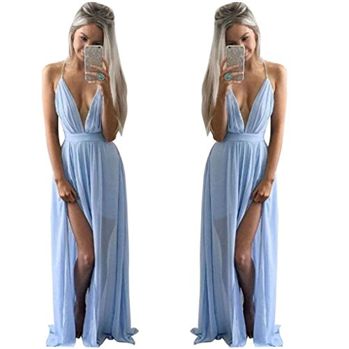 Cheapest Prices! haoricu Women Dress, 2017 Sexy V-Neck Women Summer Chiffon Sleeveless Boho Chiffon ...