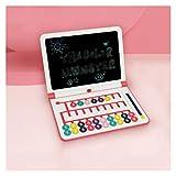 ZNZN Tablero De Dibujo Infantil Tablero De Graffiti Multifuncional Pizarra Adecuada para Niños Y Niños Pequeños Tableta de Escritura borrado Parcial (Color : Red)