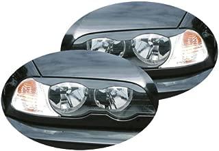 Akhan SBLE463 sourcils Paupi/ères Masque de phare Convient pour 3er E46 Coupe 99-2003