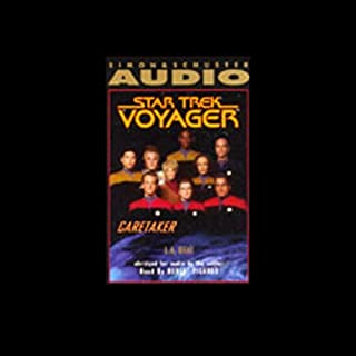 Star Trek, Voyager: Caretaker (Adapted)                   By:                                                                                                                                 L.A. Graf                               Narrated by:                                                                                                                                 Robert Picardo                      Length: 2 hrs and 42 mins     79 ratings     Overall 4.4