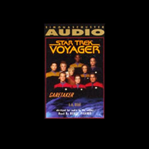 Couverture de Star Trek, Voyager: Caretaker (Adapted)