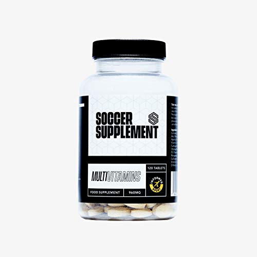SOCCER SUPPLEMENT - Multivitamins - High Strength, Contains a Range of Vitamins and Minerals That can Help The Body Protect Itself from Fatigue, Illness and Injury.