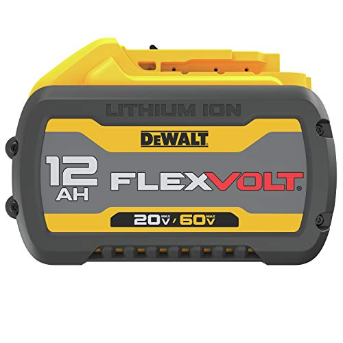 DEWALT FLEXVOLT 20V/60V MAX Battery, 12.0-Ah (DCB612)