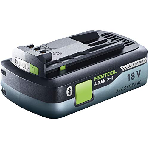 Festool - High Power 4.0AH Battery Pack with Airstream and Bluetooth
