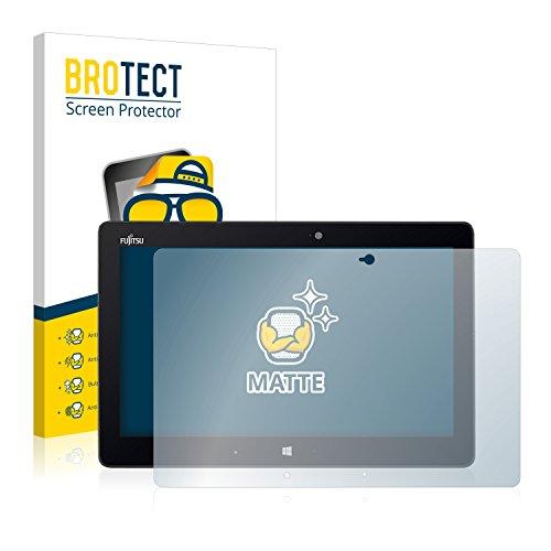 BROTECT 2X Entspiegelungs-Schutzfolie kompatibel mit Fujitsu Stylistic Q616 Bildschirmschutz-Folie Matt, Anti-Reflex, Anti-Fingerprint