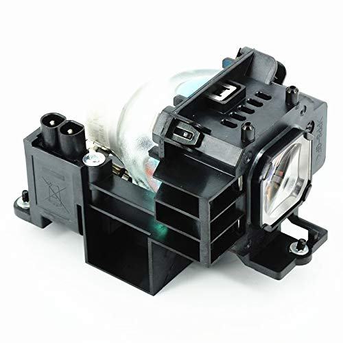 AWO NP07LP Replacement Lamp Bulb with Housing for NEC NP300 NP400 NP410W NP500 NP500W NP500WS NP510W NP510WS NP600 NP600S NP610 NP610S NP610C Projectors