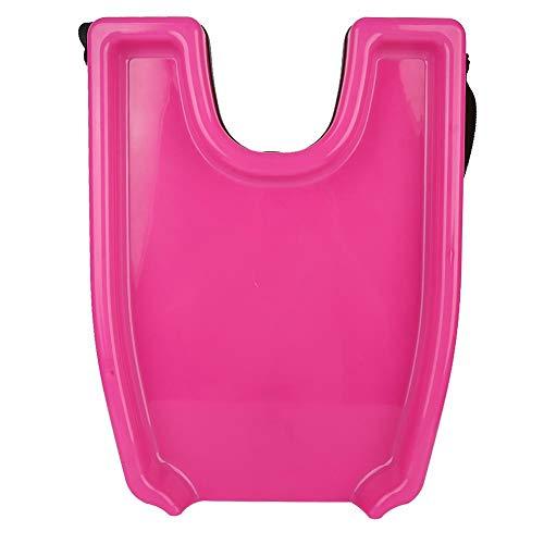 Strumenti per il lavaggio dei capelli, lavatesta portatile vassoio per shampoo Strumenti per il lavaggio dei capelli Lavabo per uso domestico portatile per donne incinte riposante per il collo (Rosa)