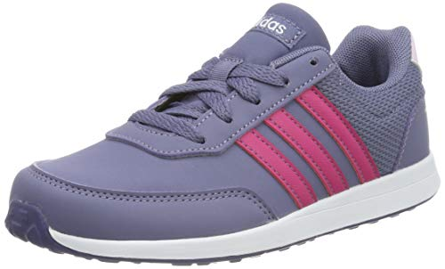 adidas Unisex-Kinder VS Switch 2 K Sneaker, Blau (Raw Indigo/Real Magenta/Aero Pink 0), 38 2/3 EU