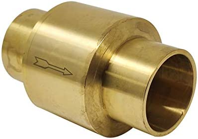 Libra Supply 1 inch Brass In Line x Sw Valve Sweat Spring Store Ranking TOP8 Check