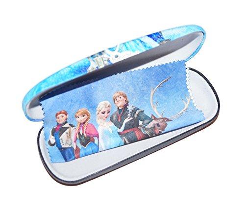 süßes Brillenetui für Kinder | Eiskönigin inkl Microfasertuch