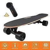 Bunao Skateboard Elettrico E-Go Cruiser Longboard con Telecomando Fino a 20 km/h per Adulto (D)