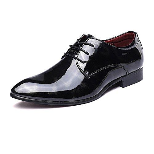 Temperament Honorable Oxford schoenen met zijdeachtig abstracte schilderij voor mannen vervaagt niet comfort, PU-lederen schoenen, klassiek binden, lage kanten voering, officiële winkel Oxford-schoenen Fashion C