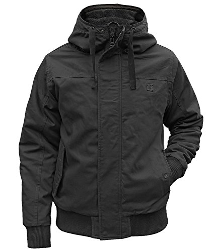 Brandit Winterjacke Grizzly schwarz - 6XL
