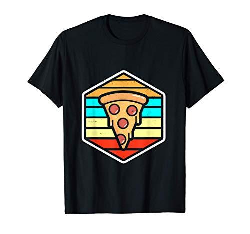 Pepperoni Pizza Retro Pizzabäcker Pizzeria Geschenk T-Shirt